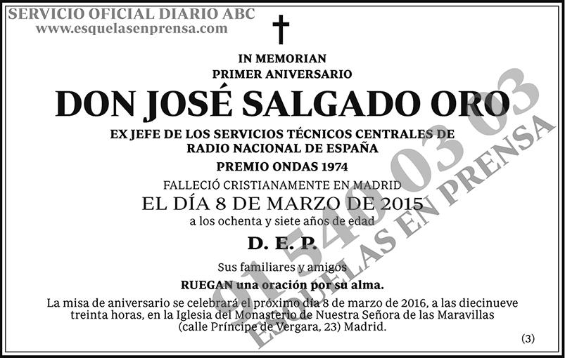 José Salgado Oro